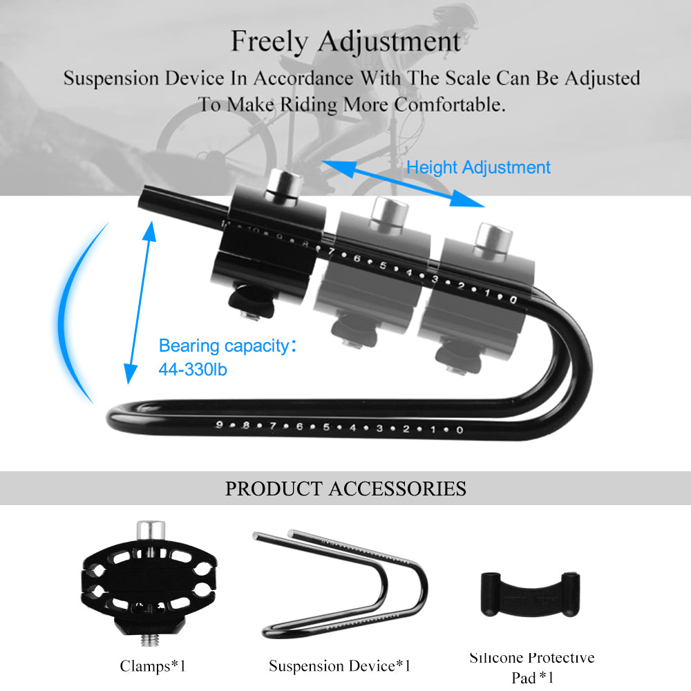 Cycling Shock Absorber Suspension Device