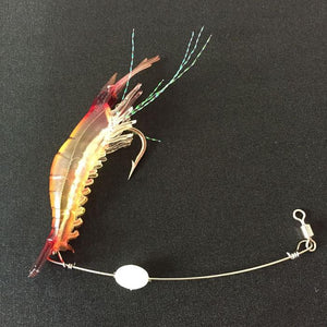 5pcs Genius Shrimp Soft Fishing Lure