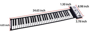 Electronic Flexible Roll Up Piano 61 Keys