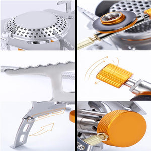 Portable Camping Gas Stove Burner 3000W