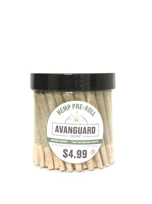 AVANGUARD - HEMP PRE-ROLL 60 COUNT