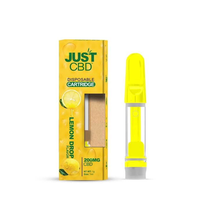 JUST CBD - DISPOSABLE CARTRIDGE 200mg
