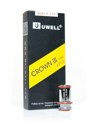 0.5Ω Balanced Clouds and Flavor - Coil (70-80W) UWELL - CROWN III 4pk COILS