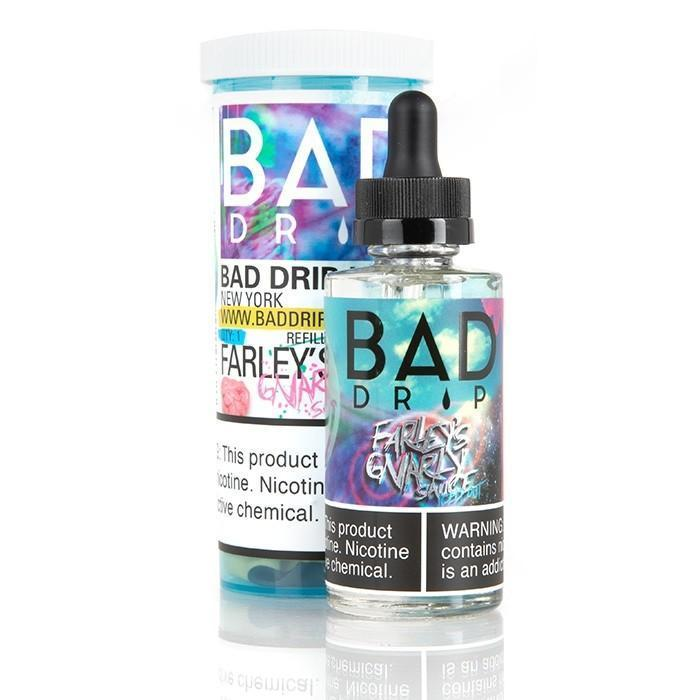0MG BAD DRIP - FARLEY'S GNARLY SAUCE ICED 60ML