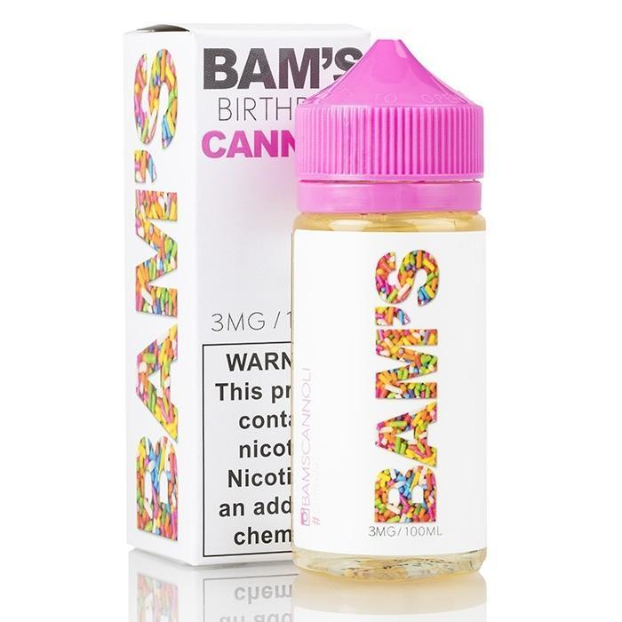 BAM BAM'S - BIRTHDAY CANNOLI 100ML
