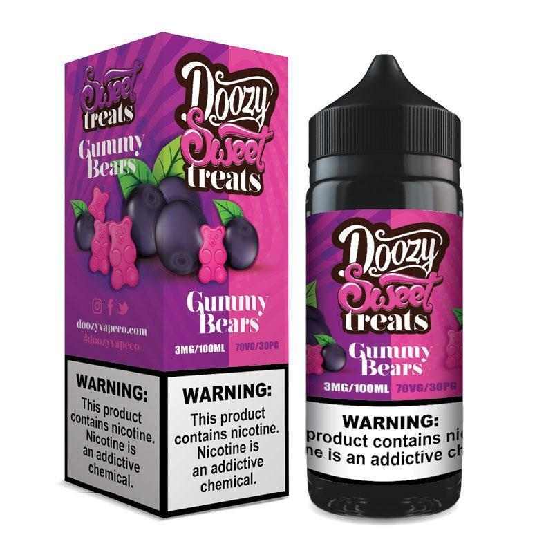 DOOZY SWEET TREATS - GUMMY BEARS 100ML