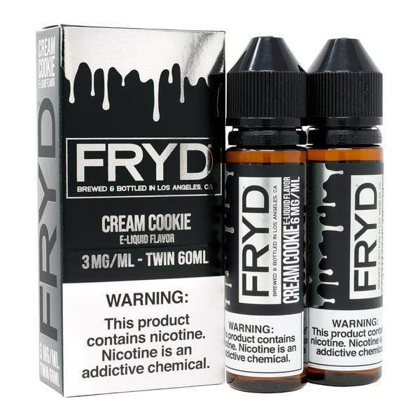 FRYD - CREAM COOKIE 120ML (2x60ml)