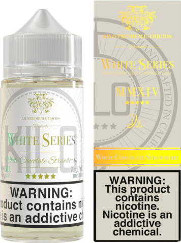 0MG KILO - WHITE SERIES WHITE CHOCOLATE STRAWBERRY 60ML