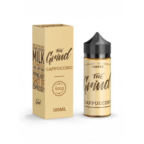 0MG THE GRIND - CAPPUCCINO 100ML