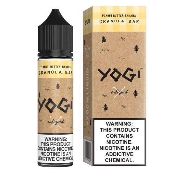 0MG YOGI - PEANUT BUTTER BANANA GRANOLA 60ML