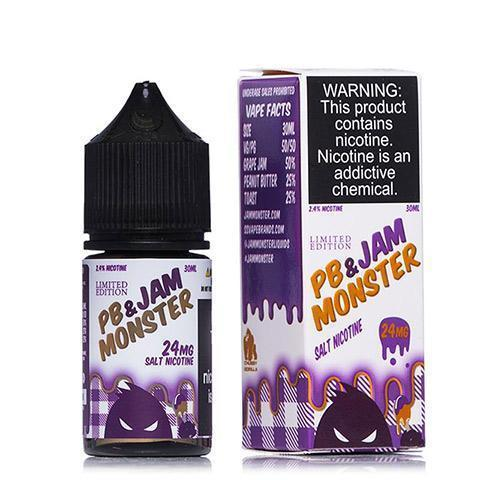 24MG JAM MONSTER SALT - PB & J 30ML