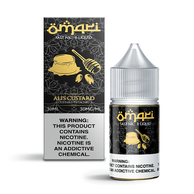 OMARI SALT - ALI'S CUSTARD 30ML