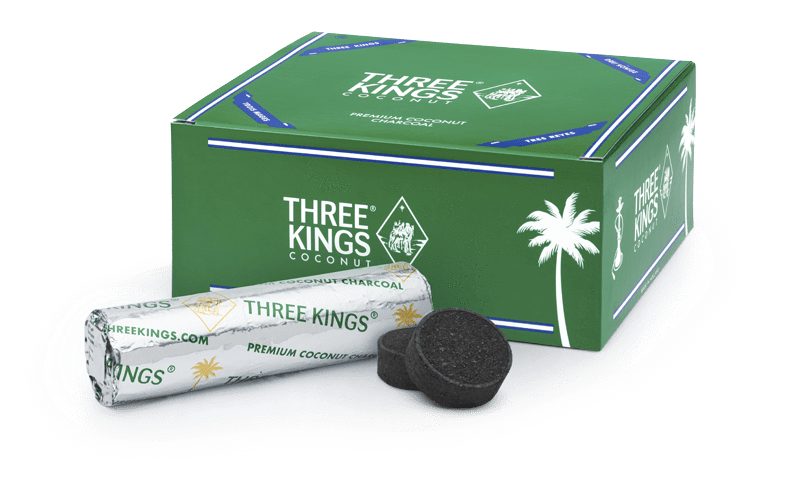 33mm THREE KINGS -  CHARCOAL