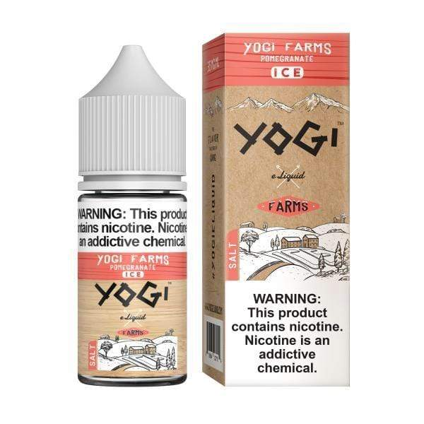 35mg YOGI SALT - POMEGRANATE ICE 30ML