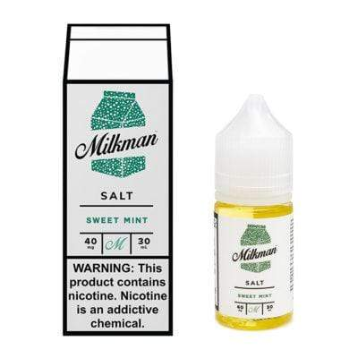 40MG THE MILKMAN SALT - SWEET MINT 30ML