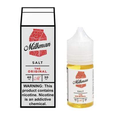 40MG THE MILKMAN SALT - THE ORIGINAL 30ML