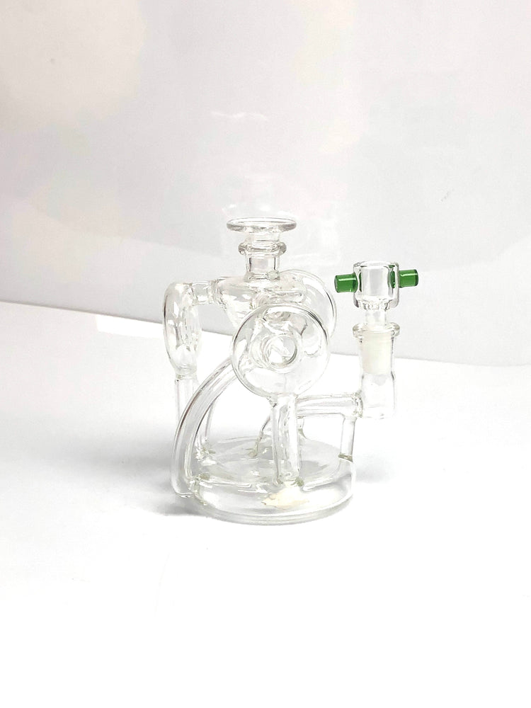 GLASS WATER PIPE - 6 IN 3347