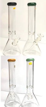 GLASS WATER PIPE - 15 IN VST22