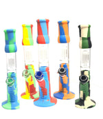 SILICONE WATER PIPE - 14IN