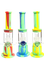 SILICONE WATER PIPE - 15IN
