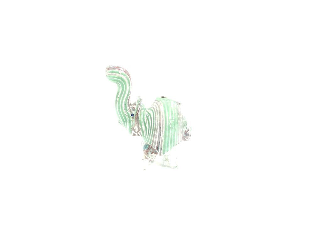 GLASS WATER PIPE - ANIMAL PIPE SMALL