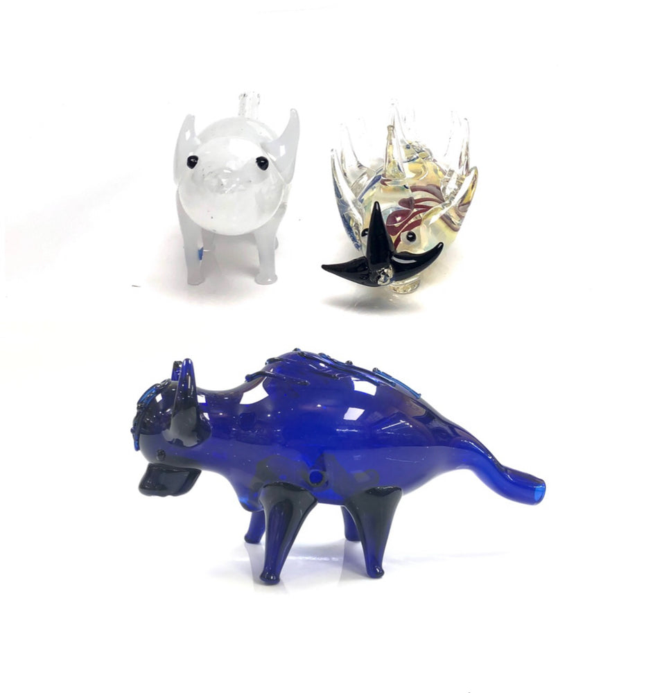GLASS WATER PIPE - ANIMAL PIPE BIG