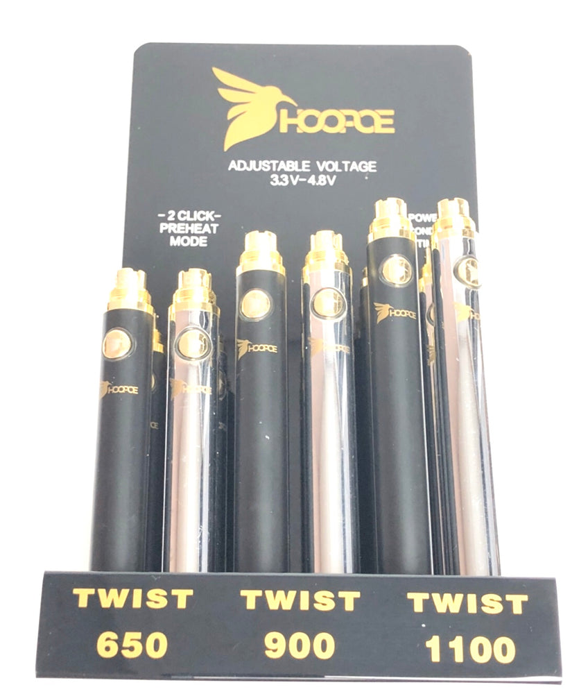 HOOPOE - TWIST BATTERY (12ct Display)