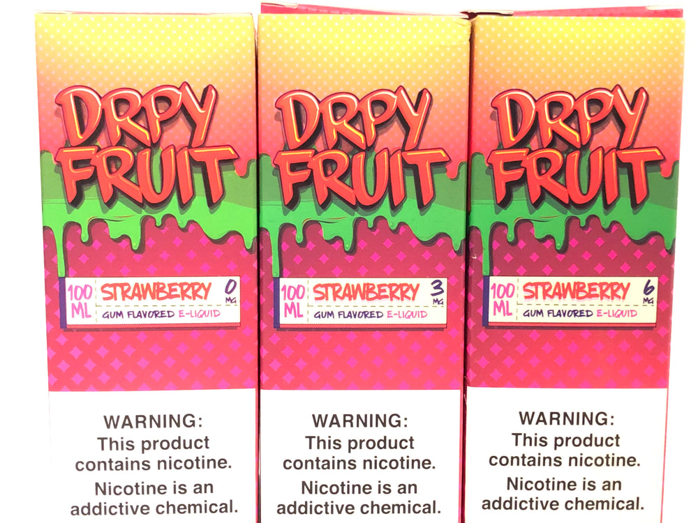 DRPY FRUIT - STRAWBERRY 100ML