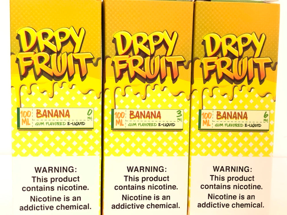DRPY FRUIT - BANANA 100ML