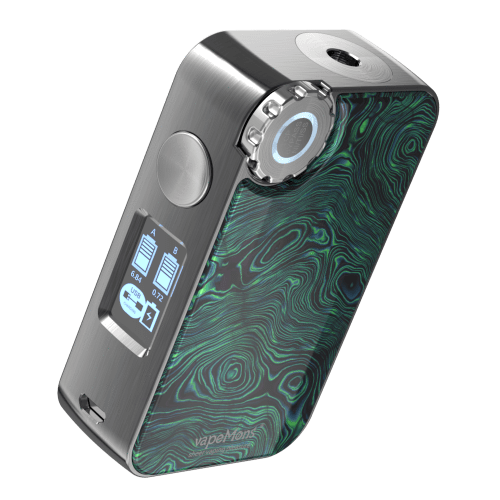 Black VAPEMONS - GEAR BOX MOD 225WATT