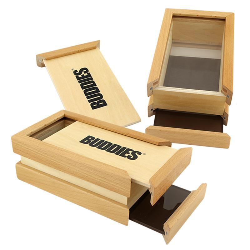 BUDDIES - MEDIUM WOODEN POLLEN PRESS BOX