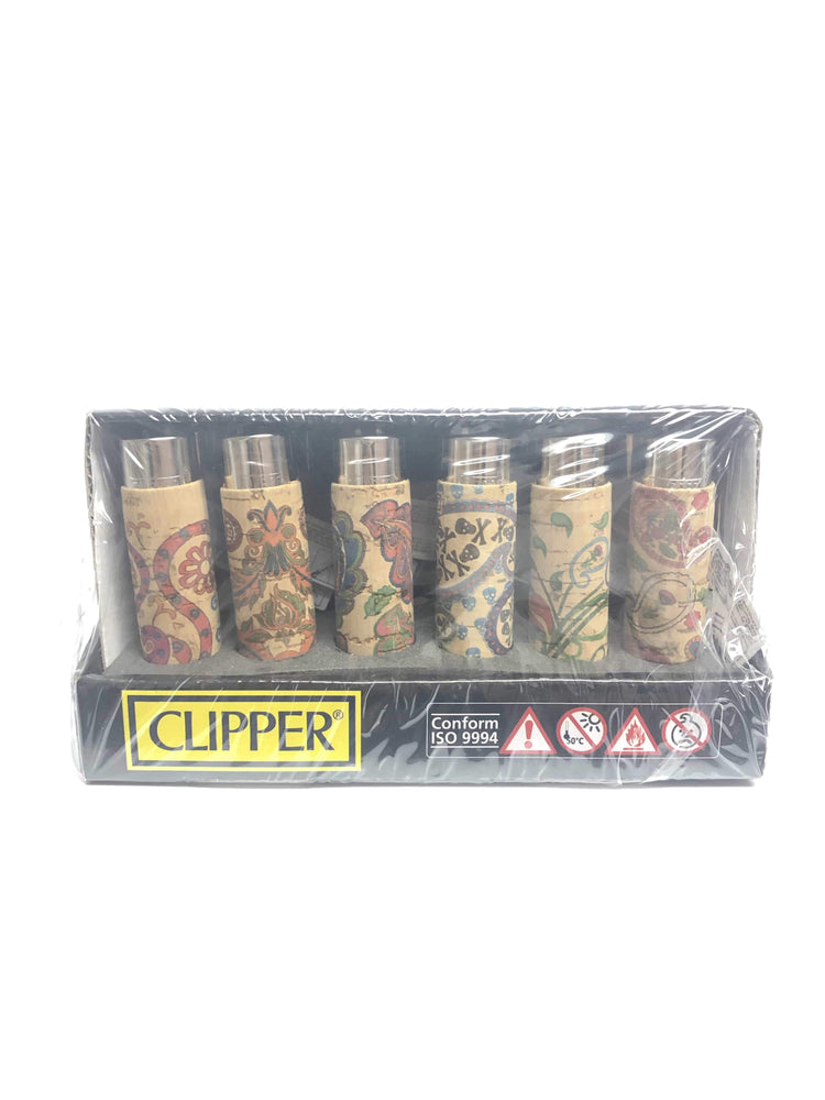 CLIPPER - CACHEMIR CORK LIGHTER (30ct Box)