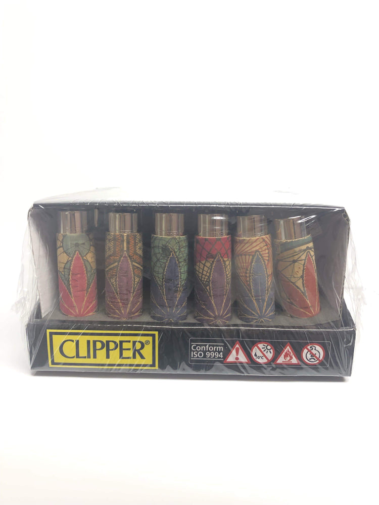 CLIPPER - LEAVES CORK LIGHTER (30ct Box)