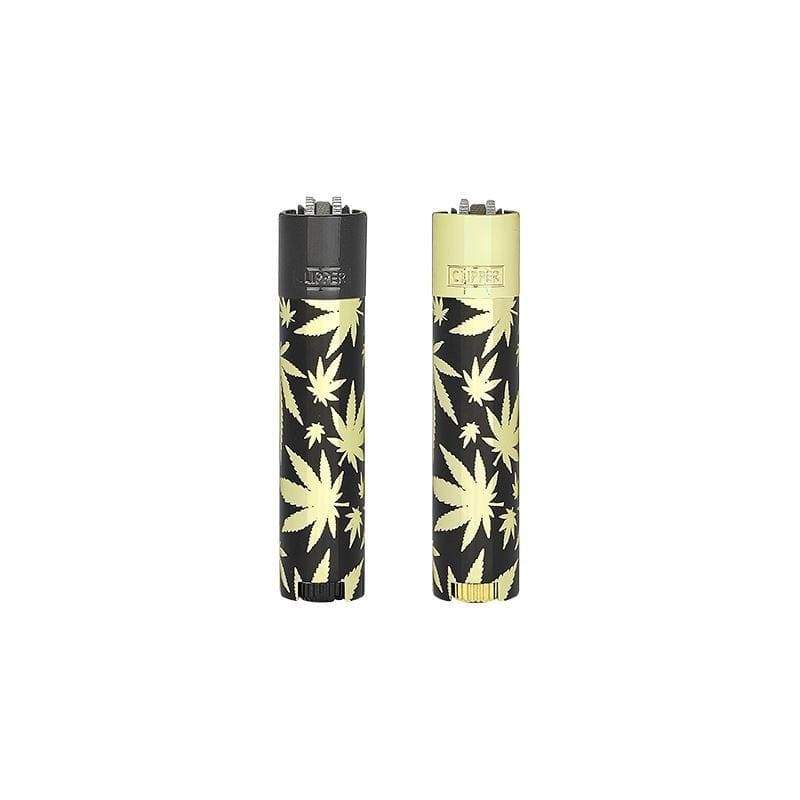 CLIPPER - LEAVES GOLD LIGHTER (12ct Box)