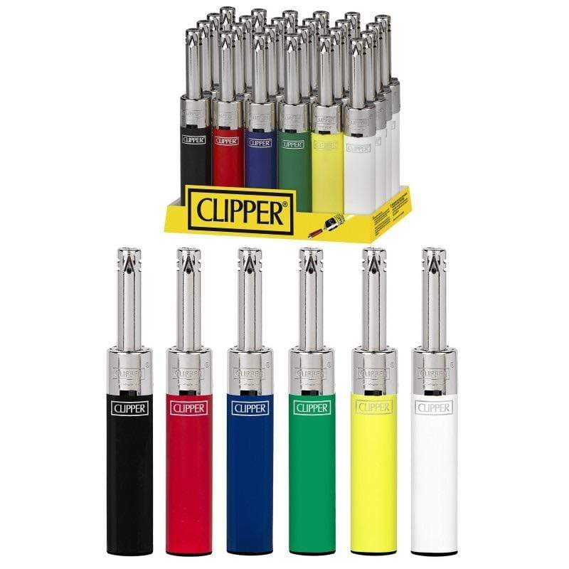 CLIPPER - MINI TUBE UTILITY LIGHTER (24ct Box)