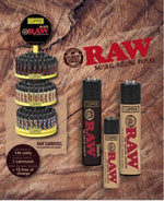 CLIPPER  - RAW CARROUSEL (144ct + 12 Free Display)