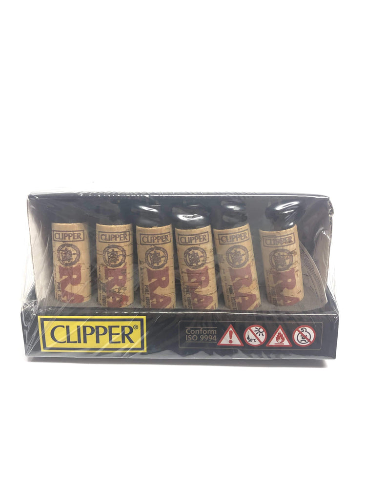 CLIPPER - RAW CORK LIGHTER (30ct Box)