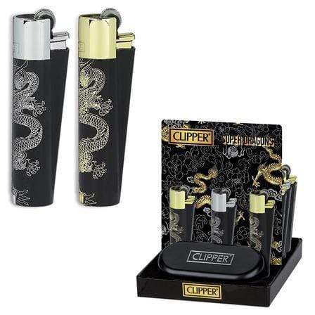 CLIPPER - SUPER DRAGON LIGHTER (12ct Box)