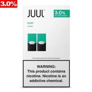 JUUL - PODS 2pk 3% (8ct Box)