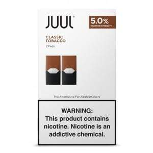 JUUL  - PODS 2pk 5% (8ct box)