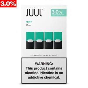 Cool Mint JUUL - 4pk PODS 3% (8ct Box)