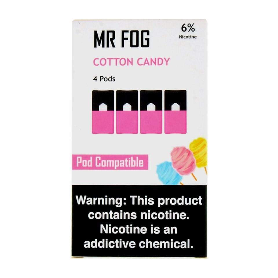 Sour Apple MR FOG - COMPATIBLE 4pk PODS 6% (5ct Box)