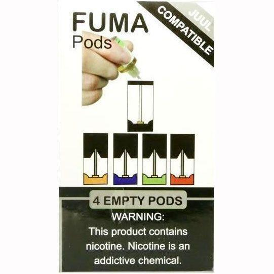 EMPTY PODS 4ct FUMA PODS - (5ct Box)