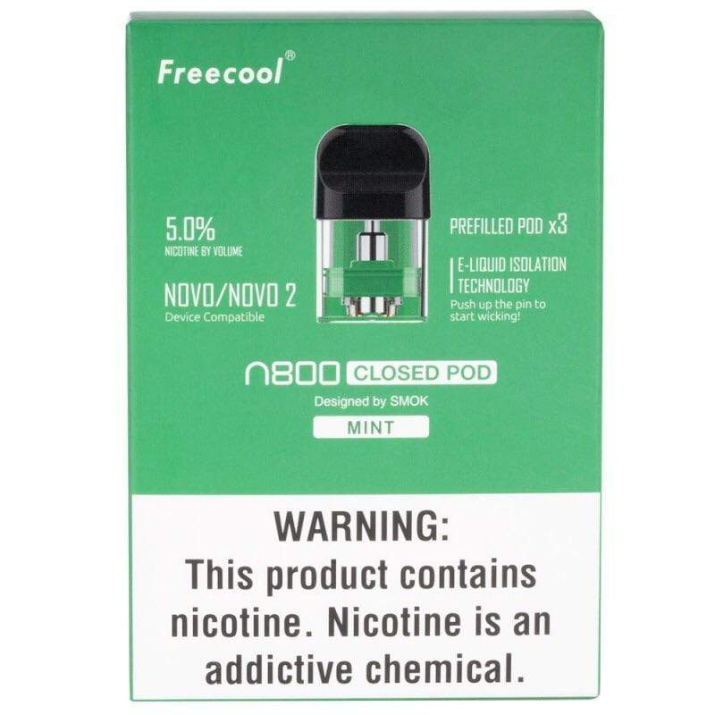 FREECOOL - NOVO 3pk PRE-FILLED POD (by Smoktech)