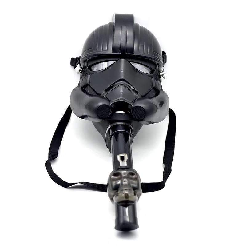 GAS MASK - STAR WAR w ACRYLIC WATER PIPE M06