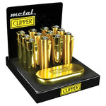 CLIPPER - METAL LIGHTER (12ct Display)