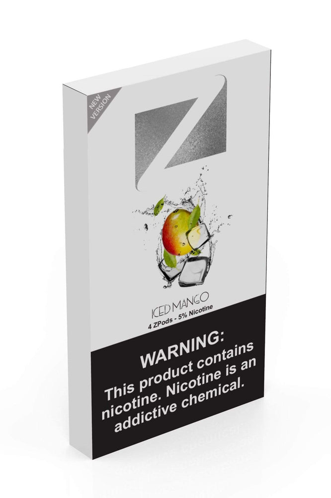 Iced Mango ZIIP LAB - ZPODS ICED 5% (10ct Box)
