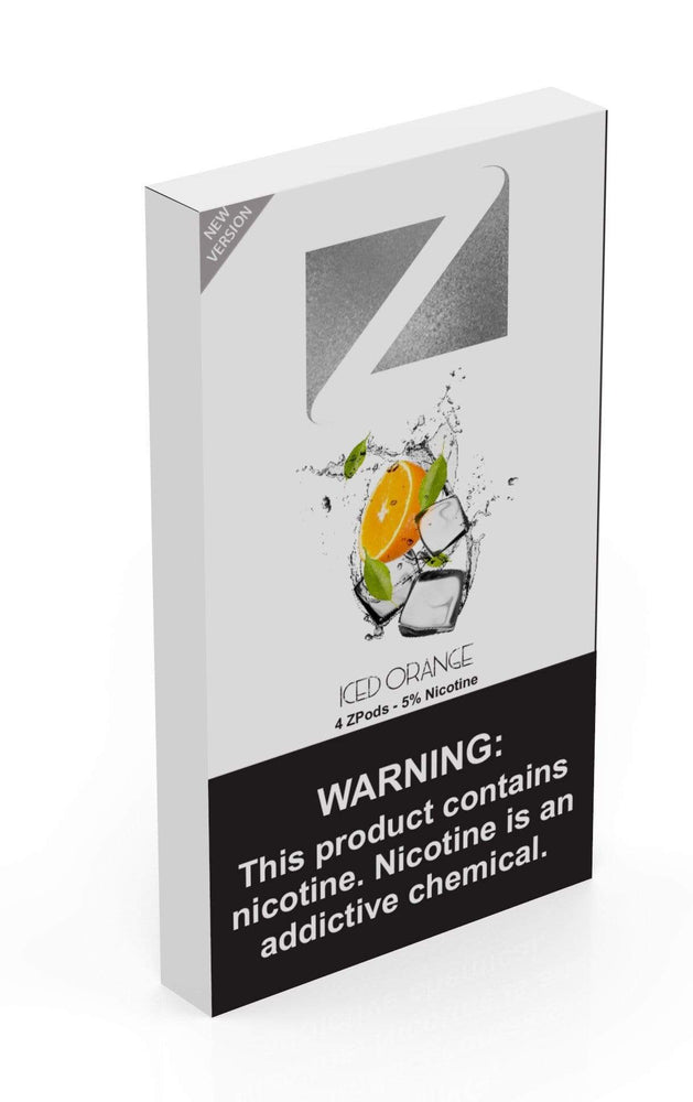 Iced Orange ZIIP LAB - ZPODS ICED 5% (10ct Box)
