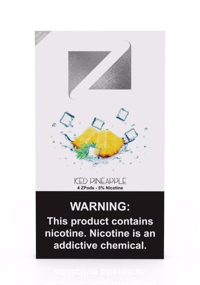 Iced Pineapple ZIIP LAB - ZPODS ICED 5% (10ct Box)