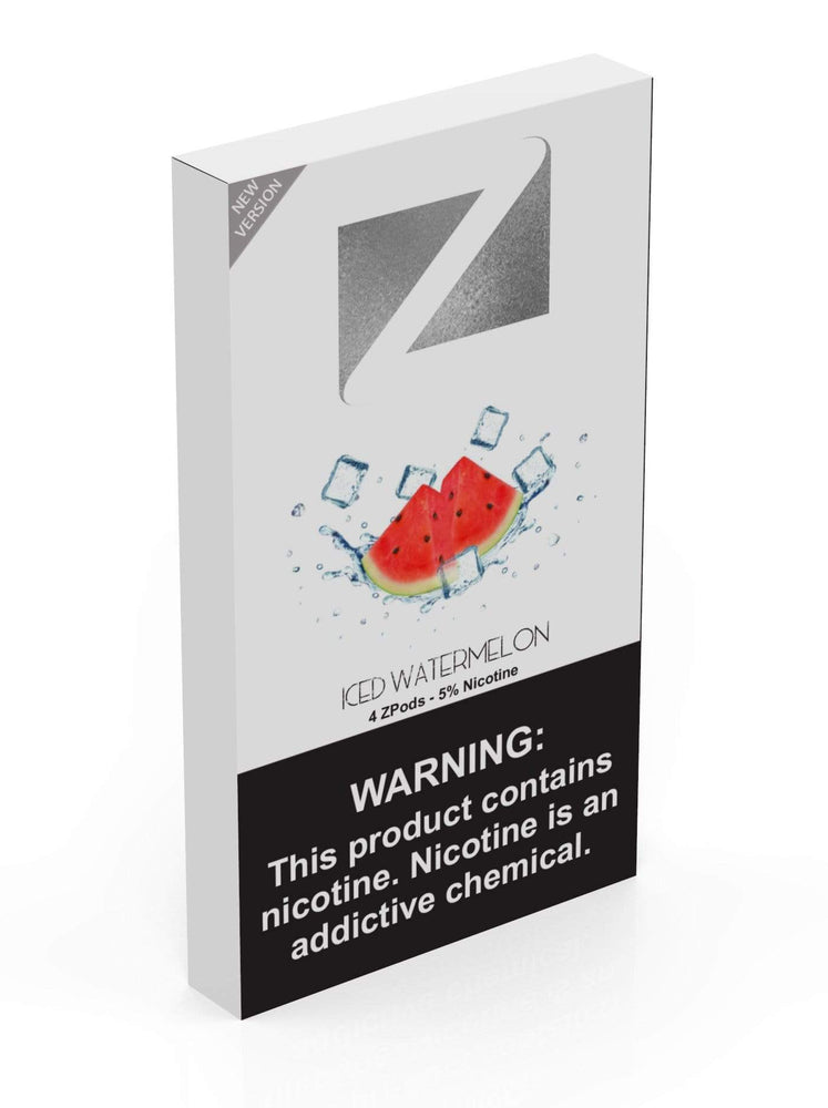Iced Watermelon ZIIP LAB - ZPODS ICED 5% (10ct Box)